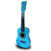 60cm CHILDRENS KIDS WOODEN ACOUSTIC GUITAR MUSICAL INSTRUMENT CHILD TOY XMAS GIFT