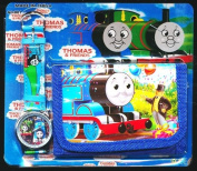 Thomas Tank Engine Children's Watch Wallet Set For Kids Children Boys Girls Great Christmas Gift Gifts Present - Sold by Happy Bargains Ltd