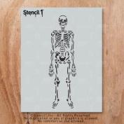Stencil1 Skeleton 8.5 X 11