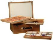 Artcoe Four Tray Pastel Box, Pine