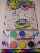 Paint Your Own Canvas Craft Kit ~ Ladybug and Flowers