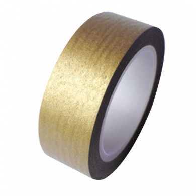 Metallic Gold Japanese Washi Tape - *15mm x 15M* - TWILIGHT PARTIES