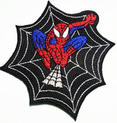 "SPIDERMAN""-Iron On Applique Patch/TV, Movie,Cartoons, Spidy Power Patch"