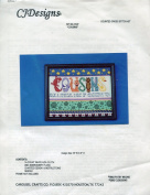 "CJDesigns ""Cousins"" Counted Cross Stitch Kit"