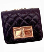 16 Madden Shiny Quilted Clutch