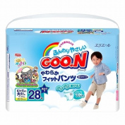 Elleair GOO.N Soft-fit Nappy (For Boys with Tape Straps) Bigger Than Big Size