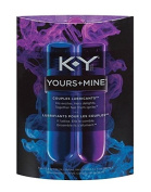 K-Y Yours and Mine Sexual Lubricant HIS & HER Couple Lubricants : Size 90ml