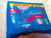 Assurance Women's (Fresh Lavender Colour), Xl, 16ct