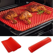 Non-stick Silicone Pyramid Pan Baking Mat Mould Cooking Sheet Oven Liner Tray
