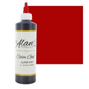 Super Red Premium Food Colour Gel, 300mls (240ml) by Chef Alan Tetreault