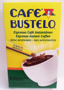 BUSTELO DECAFFEINATED INSTANT ESPRESSO COFFEE 6 - 5ml INDIVIDUAL PACKETS DECAF