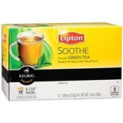 Lipton, K-Cup Single Serve Tea, 12 Count, (Pack of 3)