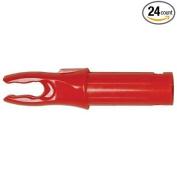 Bohning Blazer Nocks Carbon Arrows Red 24/Pkg