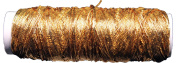 Thin Metallic Elastic Beading and Jewellery Making Cord - Big 50 Yard Roll - Gold