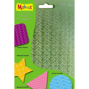 Makin's USA M380-7 Clay Texture Sheets, 18cm by 14cm , 4-Pack