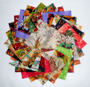 80 13cm Beautiful Autumn Harvest Charm Pack