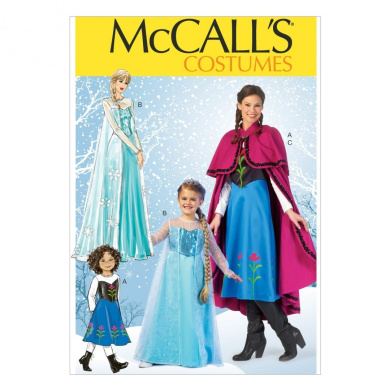 McCall Pattern Company M7000 Misses'/Children's/Girls' Costumes, Size KIDS ((3-4)-(5-6)-(7-8)-(10-12)-(14))
