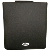 Four Square Media 1 X Neo Media 500 Capacity CD DVD Ring Binder Wallet Nylon Storage Carry Case