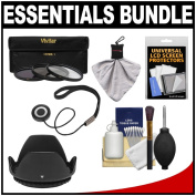 Essentials Bundle for Canon EF 50mm f/1.4 USM Lens with 3 (UV/CPL/ND8) filter s + Hood + Accessory Kit