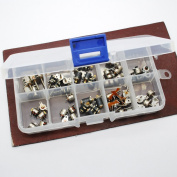 50pcs totally 5pcs each of 10 kinds 2 Phase 4 Wire dc micro stepper motor Mini stepper motor Assorted with Plastic box
