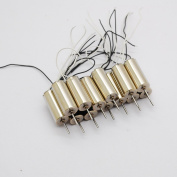 5PCS 7*16mm Double Coreless Motor 716 Coreless Motor for RC Toy 716 Helicopter 3.7V1.8A 52000RPM 4.2V2A 60000RPM high speed