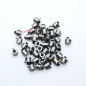 10pcs Nidec 4 Wire 2 Phase micro stepper motor D6xH5.5mm with plastic wheel stepping motorr for camera
