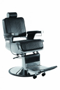 Stainless Steel Heavy Duty Hydraulic Recline Barber Chair Salon Beauty Shampoo
