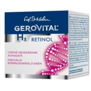 GEROVITAL H3 CLASSIC, Advanced Regenerating Cream with Retinol 45+