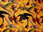Dreamworks Hallmark How to Train Your Dragon 2 Movie Party Gift Wrap Wrapping Paper