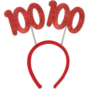 100 Glittered Boppers Party Accessory (1 count)