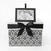 Keepsake Card Box Black and White