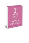 Graphique - Keep Calm and Have A Cocktail Purse Notes, 7.6cm x 10cm , pink, 75 note pages