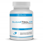 Vimulti Blood Sugar Supplement SugarTrol XR with clinically proven ingredients designed to lower blood sugar and cholesterol naturally and Homeopahtically