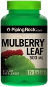 Mulberry Leaf 500 mg 120 Capsules