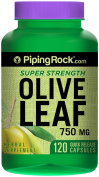 Olive Leaf Extract 750 mg 120 Capsules