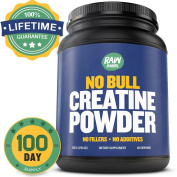 Pure Creatine Monohydrate Powder - Unflavoured and Micronized - LIFETIME SATISFACTION GUARANTEED - No Fillers, No Additives, No Bull - The Best Pre and Post Workout Bodybuilding Supplement for Men and Women - Absorbs. Pills, Capsules, HCL an ..