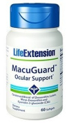 Life Extension - MacuGuardTM Ocular Support (with Super Zeaxanthin W Lutein, Meso-Zeaxanthin & C3g) 60 softgels