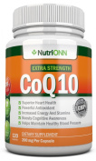 CoQ10 200mg (Double Strength), 120 Capsules - High Absorption Coenzyme Q10 - Clinically Proven Extra Strength CoQ10 Ubiquinone - 4 Month Supply!