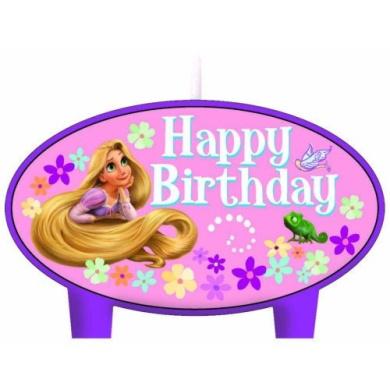 Disney Tangled Mini Moulded Candles - 4/Pkg.