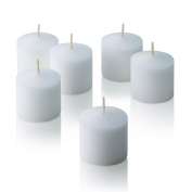 10 Hour White Jasmine Scented Votive Candles Set of 12 Made in USA