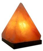 Himalayan Salt - Himalayan Crystal Salt Pyramid Salt Lamp by Aloha Bay - 17cm .