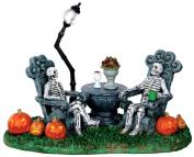 Lemax 33014 Mausoleum Vacancy Spooky Town Table Accent Decor