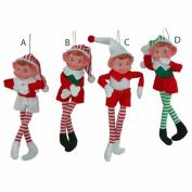 Bendable Pixie Elf Doll Shelf Sitter 23cm