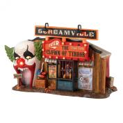 Department 56 Snow Village Halloween Lit, The Clown House of Terror, 14cm