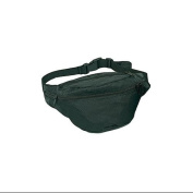Polyester 4-Pocket Fanny Pack - Black