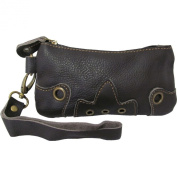 AmeriLeather Orka Wristlet Purse