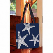 Thumbprintz, Nautical Nonsense White Blue Starfish