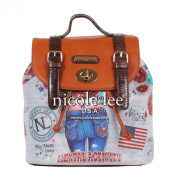 Nicole Lee Lucia Print Backpack