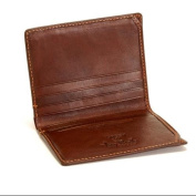 Prima Americano Front Pocket Leather Credit Card Wallet