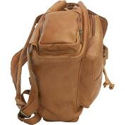 Le Donne Leather Multi Pocket Back Pack